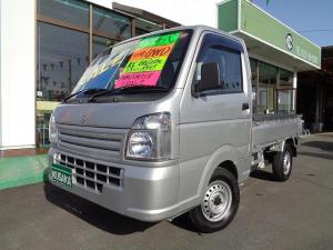スズキ キャリイトラック KC 切替4WD エアコン パワステ エアバック AM/FMラジオ