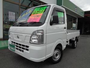 日産 NT100クリッパートラック DX農繁仕様 切替4WD エアコン パワステ エアバック デフロック CD 作業灯 ワンオ-ナ-