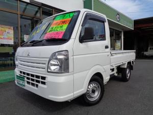 三菱 ミニキャブトラック M 切替4WD オ-トマ車 エアコン パワステ エアバック AM/FMラジオ