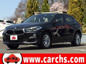 BMW X2 xDrive 20i 4WD/衝突軽減ブレーキ/ナビ・Bカメラ/LEDライト/パワーバックドア/コーナーセンサー/レーンキープ/ETC/スマートキー/1年保証付き