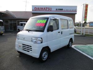 三菱 ミニキャブバン 4WD CD オートマチック車 エアコン パワステ