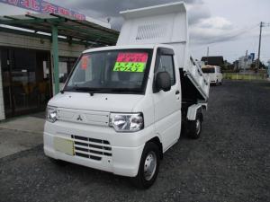 三菱 ミニキャブトラック ダンプ 4WD PTO式ダンプ エアコン パワステ