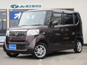 ホンダ N-BOX G 4WD ワンオ-ナ- キ-レスプッシュスタ-ト・アイドリングストップ・シ-トヒ-タ-・ミラ-ヒ-タ-