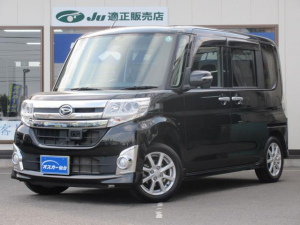 ダイハツ タント カスタムX SA ワンオ-ナ-・メモリ-ナビ・フルセグ・Bluetooth・ETC・ドラレコ・LEDヘッドライト・左パワースライドドア・オートライト・エコアイドル