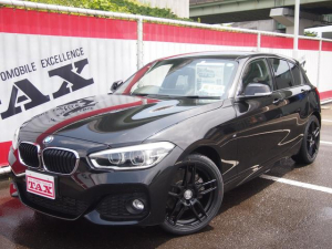 BMW 1シリーズ 118i Mスポーツ 1年保証付き 純正HDDナビ Bカメラ バックソナー プライバシーガラス ステアリングスイッチ LEDヘッドライト 純正17インチアルミホイール ETC 整備記録簿有 横滑り防止 ターボ車 クルコン