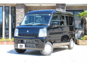 スズキ エブリイ ジョインターボ 4WD 5MT 届出済み未使用車 純正CDチューナー ミラーヒーター 電格ミラー オーバーヘッドシェルフ