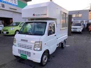 スズキ キャリイトラック KCエアコン・パワステ 4WD キッチンカーベース車