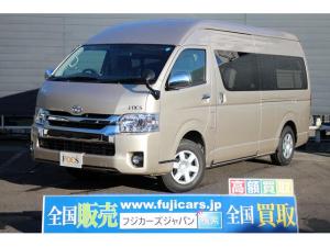 トヨタ ハイエースバン キャンピング FOCS ディパーチャー 4WD 登録済未使用