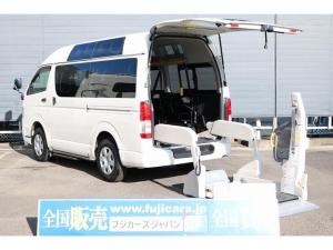 トヨタ レジアスエースバン 福祉車輌 リアリフトBタイプ 4WD ルーフサイドウインドウ