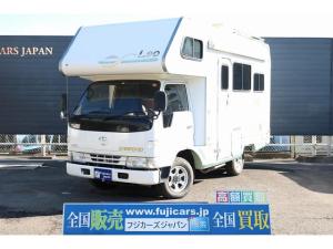 トヨタ カムロード キャンピング バンテック レオ 4WD ベバストFFヒーター