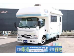 トヨタ カムロード キャンピング バンテック ジルフィックス ソーラーパネル