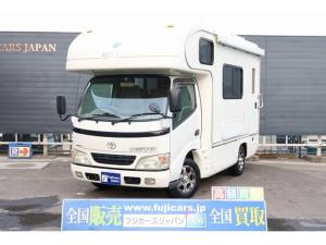 トヨタ カムロード キャンピング グローバルチャンプ 4WD ディーゼルターボ