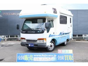 いすゞ エルフトラック キャンピング バンテック ジルクルーズ 4WD NOX適合
