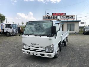 いすゞ エルフトラック 強化フルフラットローダンプ 坂道発進補助付 関東仕入れ