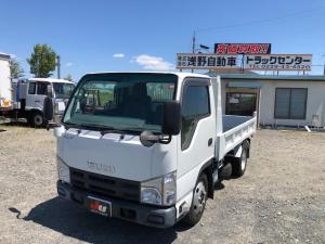 いすゞ エルフトラック 強化フルフラットローダンプ HSA坂道補助付 関東仕入れ