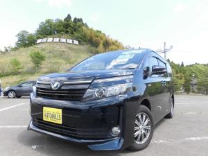 トヨタ ヴォクシー ハイブリッドV パワースライドドア LEDライト カーナビ Bluetooth対応 バックモニター シートヒーター 障害物センサー ETC アイドリングストップ プッシュスタートキーフリー