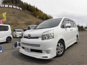トヨタ ヴォクシー ZS パワースライドドア 社外カーナビ フルセグTV Bluetooth対応 バックモニター