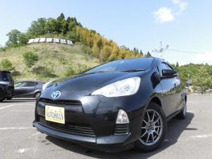 トヨタ アクア S カーナビフルセグTV バックモニター Bluetooth対応 ETC シートヒーター プッシュスタート スマートキー