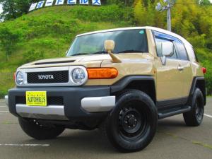 トヨタ FJクルーザー カラーパッケージ 4WD 純正フルセグナビ/Bluetooth/バックカメラ
