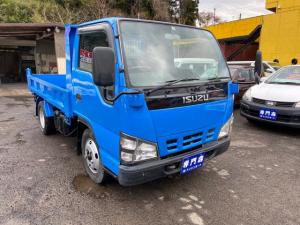 いすゞ エルフトラック 強化フルフラットローダンプ 2t 5MT 外装仕上済