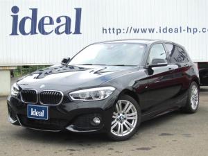 BMW 1シリーズ 118i Mスポーツ LEDライト 純正ナビ Bカメラ インテリセーフ