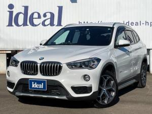 BMW X1 xDrive 20i xライン LEDライト 半革シート 純正HDDナビ バックカメラ 衝突軽減 電動リアゲート スマートキー ETC 純正18AW アイドリングS