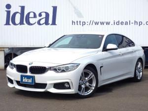 BMW 4シリーズ 420iグランクーペ Mスポーツ ワンオーナー 純正ナビ ACC 車線逸脱警報 バックカメラ パドルシフト ETC