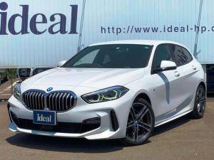 BMW 1シリーズ 118d Mスポーツ エディションジョイプラス コンフォートPKG ナビゲーションPKG ストレージPKG LED フルセグTV ACC Bカメラ 衝突軽減B 電動テールゲート パドルシフト 純正18AW スマートキー DSRC 新車保証継承