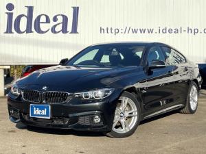 BMW 4シリーズ 420iグランクーペ Mスポーツ 純正HDDナビ・フルセグ・LEDヘッドライト・Bカメラ・ACC・レーンアシスト・衝突軽減・スマートキー・ETC2.0・純正18AW・パドルシルト・インテリセーフ!