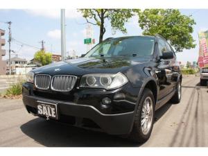 BMW X3 2.5si 両席電動Pシート 純正ナビ
