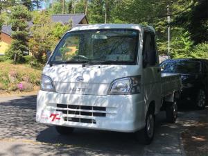 ダイハツ ハイゼットトラック 農用スペシャル エアコン 4WD 整備記録簿付き