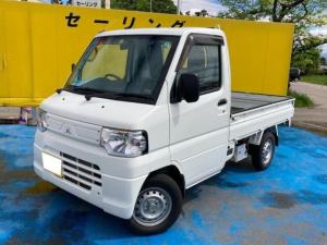 三菱 ミニキャブトラック  4WD エアコン 5速マニュアル ホワイト