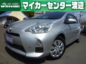 トヨタ アクア S 純正SDナビ・地デジ・Bluetooth・ETC・キーレス