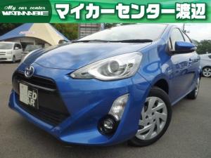 トヨタ アクア G 中期型・純正SDナビ・地デジ・Bluetooth・クルーズコントロール・ETC・スマートキー