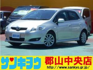 トヨタ オーリス 180G Sパッケージ SDナビ HIDライト スマートキー
