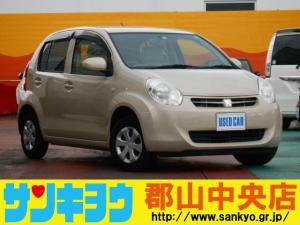 トヨタ パッソ X ユルリ 純正CDオーディオ スマートキー ABS 電格ミラー