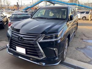 レクサス LX LX570 4WD レザーシート サンルーフ ドラレコ ETC ナビ TV