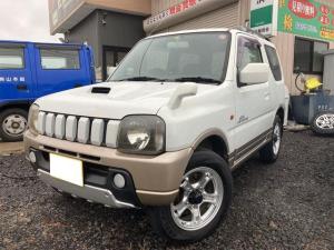 スズキ ジムニー ランドベンチャー 4WD ナビ ETC 革シート シートヒーター AW