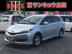 トヨタ ウィッシュ 1.8X HIDセレクション 4WD 純正ナビ フルセグTV