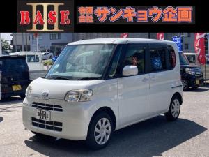 ダイハツ タント X 4WD 左側電動スライドドア CD スマートキー ABS エアバッグ 軽自動車