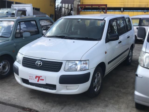 トヨタ サクシードバン UL 4WD HDDナビ CD ETC キーレス 商用車