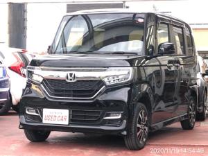 ホンダ N-BOXカスタム G・EX 4WD 助手席スーパースライドシート 両側パワスラ