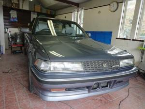 トヨタ マークII GTツインターボ 5MT 1G-GTEU タービン新品x2 下回りワコーズ塩害塗装施工済み