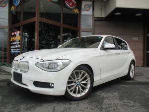 BMW 1シリーズ 116i ファッショニスタ ベージュレザーシート ナビ