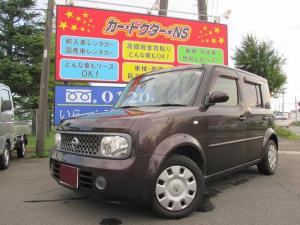 日産 キューブ 14S キーレス/Wエアバック/ABS/ベンチシート