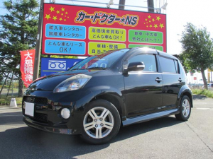 トヨタ パッソ レーシー 社外ナビ/フルセグTV/HIDヘッドライト/キーレス