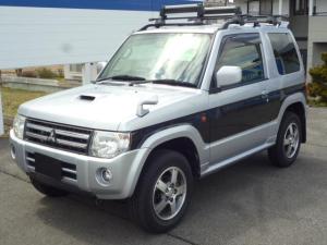 三菱 パジェロミニ VR 4WD ターボ ナビ ワンセグTV CD キーレス