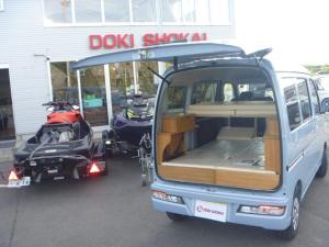 ダイハツ ハイゼットカーゴ クルーズSAIII 4WD2段ベットキット