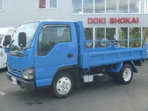 いすゞ エルフトラック ダンプ 4WD最大積載量2t