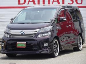 トヨタ ヴェルファイアハイブリッド ZR 4WD 1オーナー 純正HDDナビ フルセグ ETC